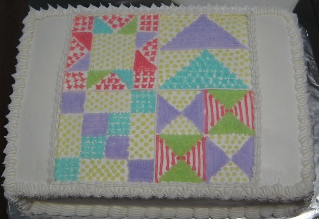 Quilting Cake Designs : Quilt cake cake design I made for a quilt guild cake By: cyto_steph Flickr - Photo Sharing!