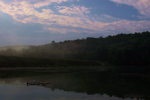 blue light sky mountain lake nature water clouds sunrise outdoors fishing turtle pennsylvania pa perry