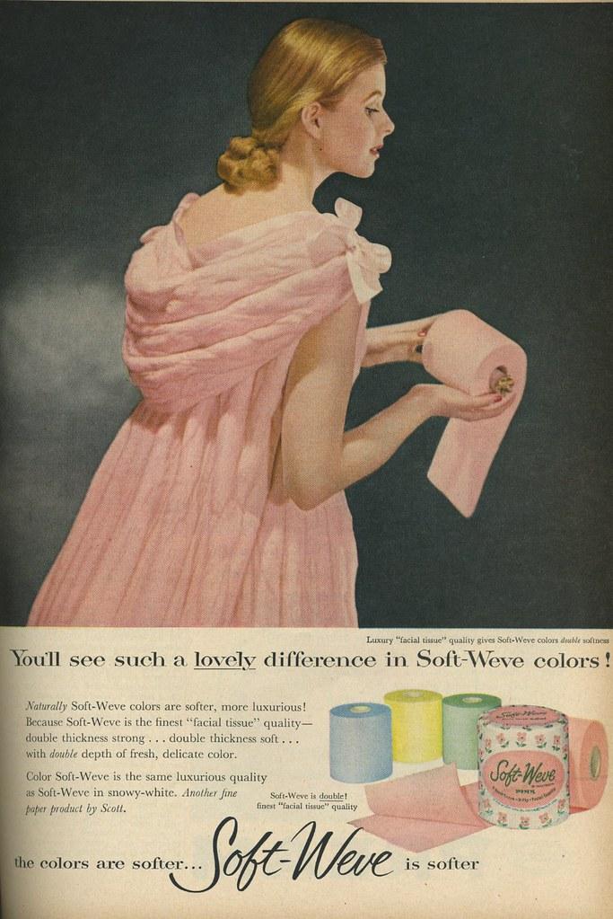 Soft-weve toilet paper