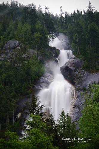 canada vancouver forest landscape nikon bc britishcolumbia falls raining shannonfalls gp1 d90 squarmish nd4 carlosdramirez cdr35