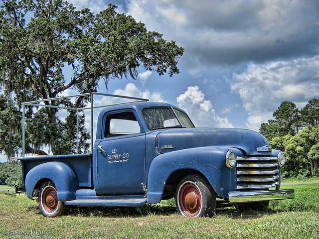 Old Blue Truck | Flickr - Photo Sharing!