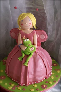 fairy and the frog for Nefeli