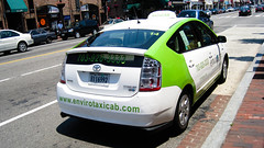 taxi, automobile, automotive exterior, toyota, vehicle, automotive design, compact car, toyota prius, motor vehicle,