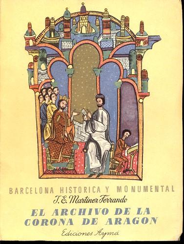 «El archivo de la Corona de Aragón» (1964)