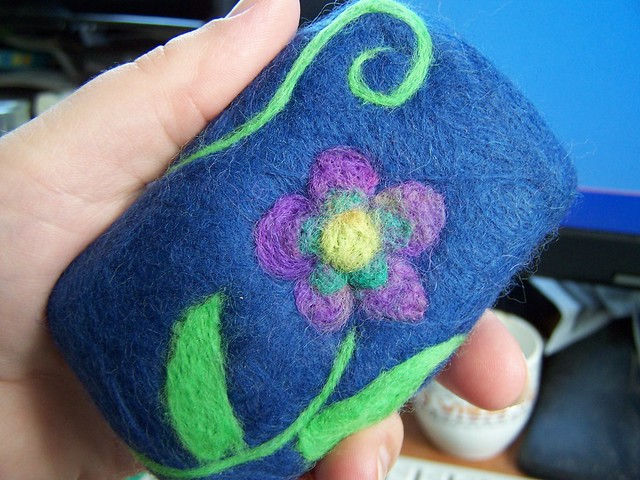 needle felted soap | When felt crafts go crazy :o) snuffywum ...