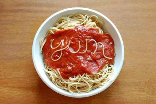 Spaghetti? Yum!