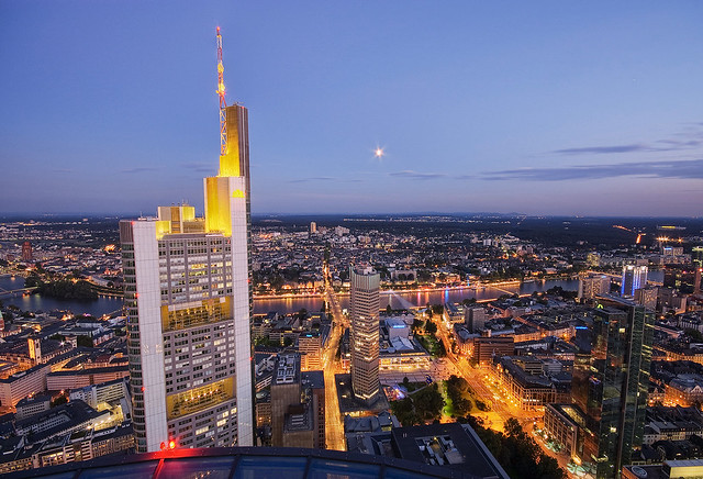 Commerzbank and the moon