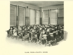 Class Room - Fourth Grade, Butte, Montana. (1905)