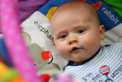 Baby on Play mat