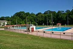 Druid Hill Park public swimming pool