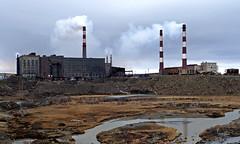 Zapoljarnyj / Заполярный (Russia) - Nickel factory