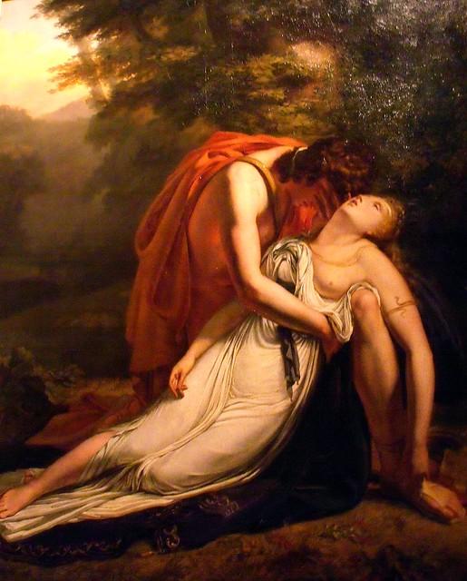 Ary Scheffer, La Mort d'Eurydice