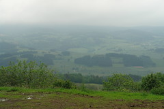 A foggy day on the edge of La Chan