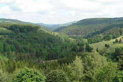 Valley of the Chapeauroux near Auroux