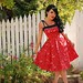 Masuimi Max in the red bandanna netti dress, #4 by pinupgirlclothing