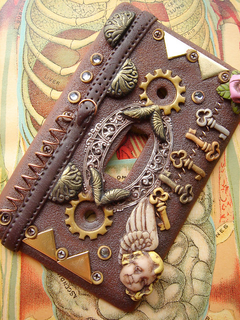 Steampunk Light Switch Plate Cover 2 Flickr Photo Sharing