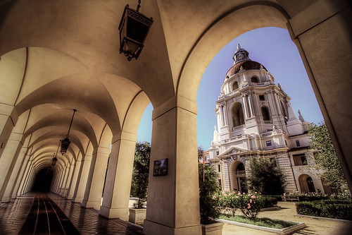 Pasadena City Hall and Corridor