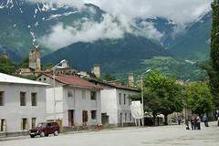 Mestia's Main Square - Svaneti, Georgia