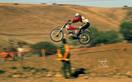Vintage Motocross Images by Lee Sutton
