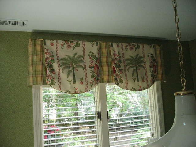 Scallop Hem Tailored Valance, Palm Trees | Flickr - Photo Sharing!