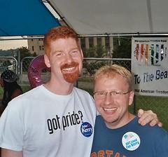 Chad & Jon at KC gay pride