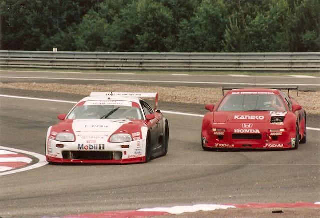 Toyota & Nissan - Le Mans 1995