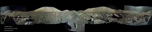 Apollo 17 AS17-145-22159 to AS17-145-22183 Pan 360°