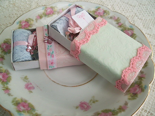 Shabby Chic Matchbox Swap