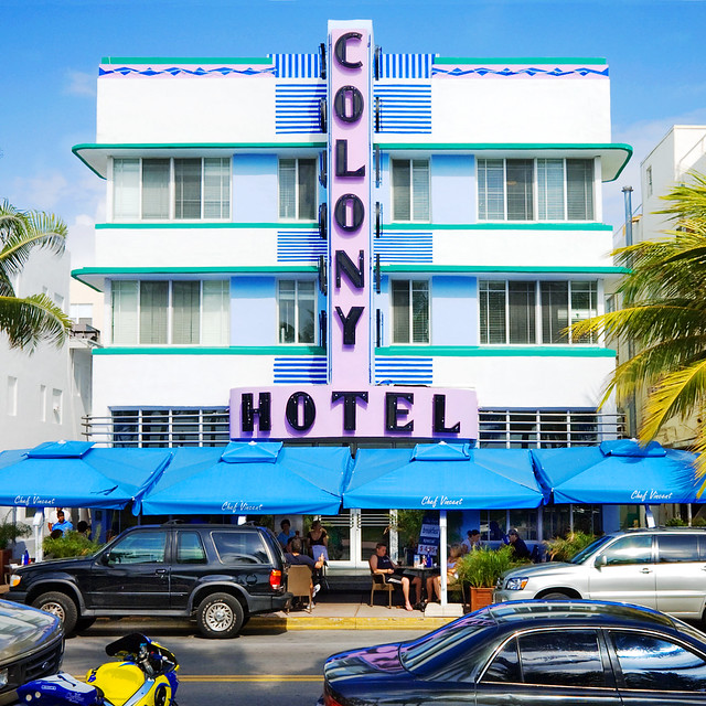 colony hotel 1939 736 ocean drive south beach miami. Black Bedroom Furniture Sets. Home Design Ideas