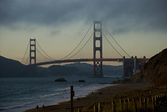 spanning the Golden Gate