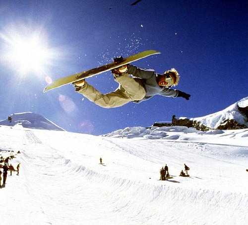 Sci estivo:Hit the half-pipe in snowpark di Saas-Fee, Svizzera