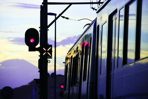 [フリー画像素材] 乗り物・交通, 電車・列車, 風景 - 日本 ID:201204010000
