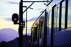 [Free Images] Transportation, Trains, Landscape - Japan ID:201204010000