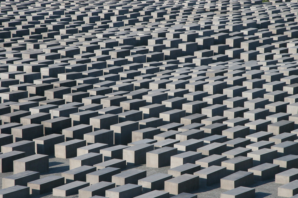 Memorial to the Murdered Jews of Europe, Berlin.