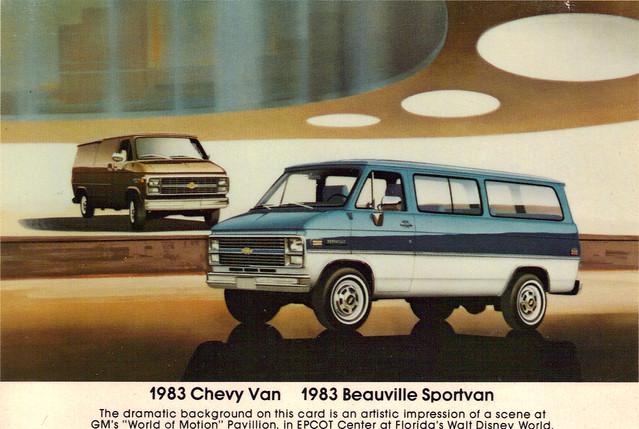 1983 Chevy Van & Beauville Sportvan
