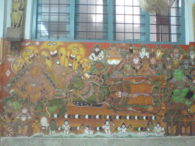 4711990579 368c18d64f for Asha mural painting guruvayur