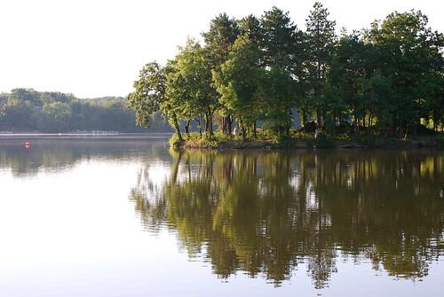 trees summer lake sunrise cabin nikon indiana lowell nikond40x d40x