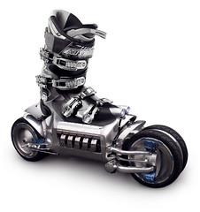 vehicle, roller skates,