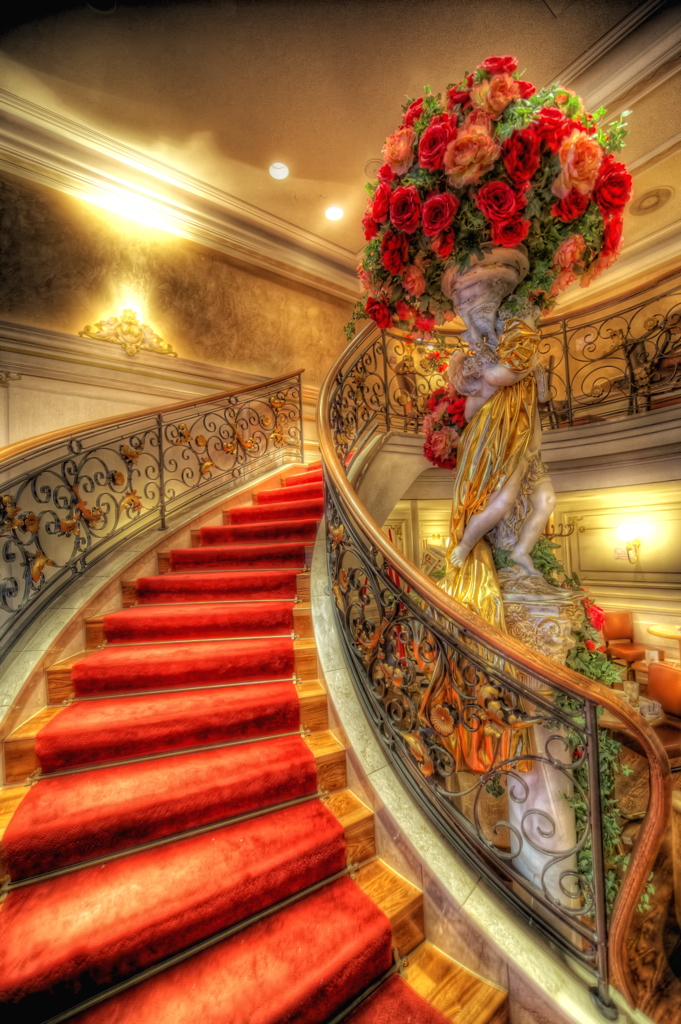 The Red Stairway (HDR) [Explored]