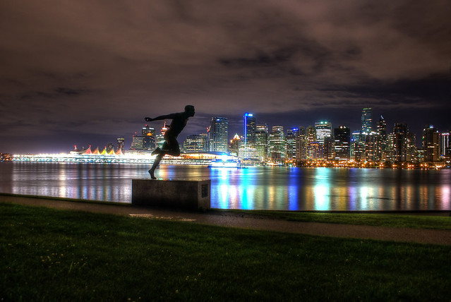 Vancouver behind Henry Jerome (HDR)
