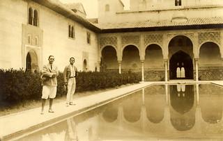 1923 Hampton and Nellenbogen - Alhambra, Spain