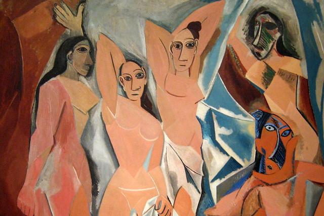 NYC - MoMA: Pablo Picasso's Les Demoiselles d'Avignon