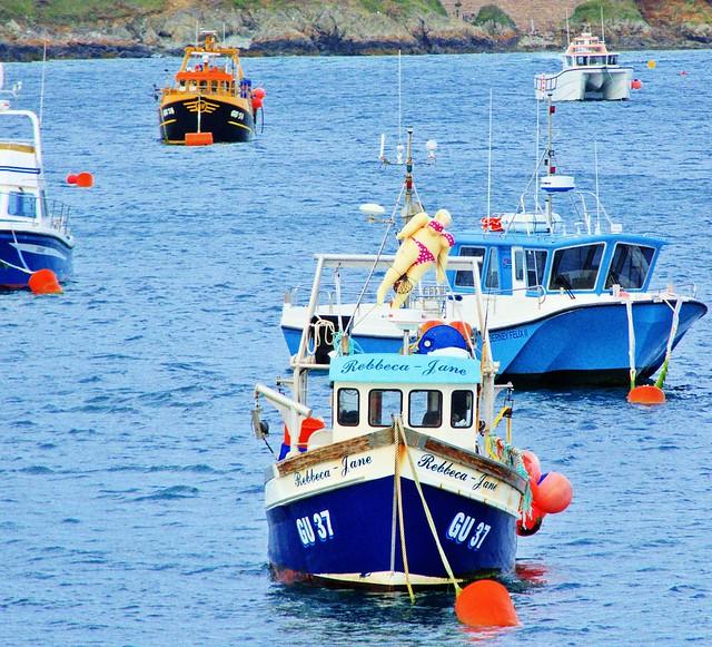 Fishing boat - Braye Bay - Alderney