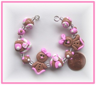 Polymer Clay Beads * Ginger Girls