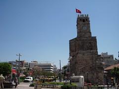 Clock Tower in Antalya