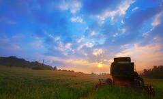 Bliesgau - sunrise