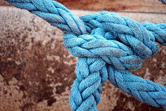 turquoise, azure, thread, close-up, rope, blue,