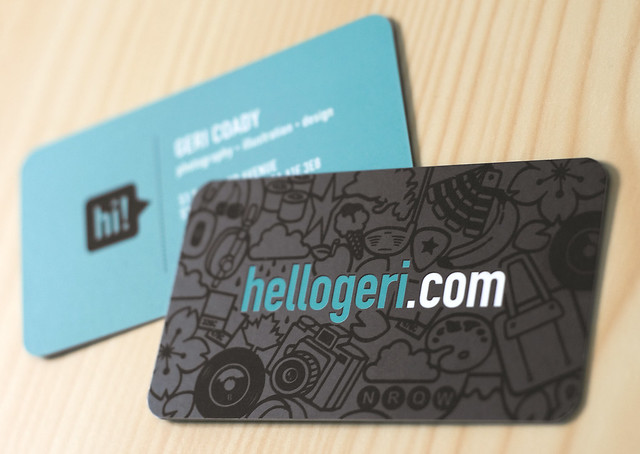 hellogeri.com Business Cards
