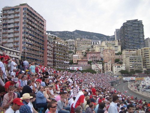 Crowd in Monaco Stands