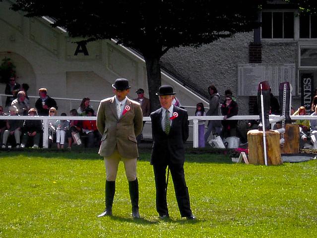 Judges at Dublin Horse Show